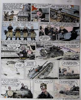 Planche originale Le Goulag ; p°26 ; Les Rois du Pétrole