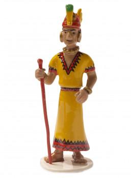 Figurine carte de voeux 1972 - INCA