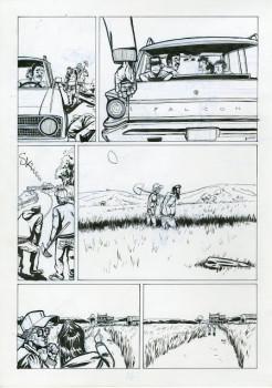 Planche originale Doggybags tome 2 - planche 26 encre 42x29