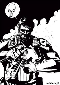 Punisher fan art - 42x30
