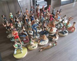 Lot de figurines Lara Croft n°1 à n°46