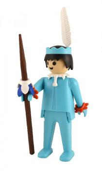 Playmobil - L'indien bleu