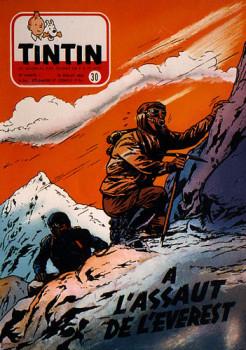 """Sérigraphie Weinberg  """"À l'assaut de l'Everest"""""""