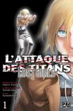 L'attaque des titans - Lost girls tome 1