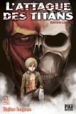 L'attaque des titans tome 21 - édition limitée