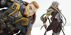 Figurines Elfes et Nains