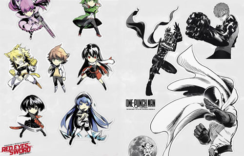 stickers-onepunchman